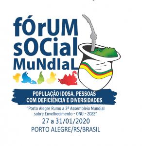 FÓRUM SOCIAL MUNDIAL 2020 IDOSOS PCDS E DIVERSIDADES